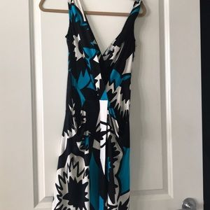 DVF size 4 silk blend dress
